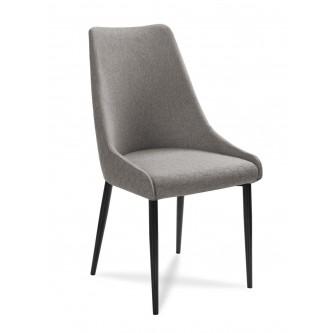 AT krzesło OLIVIER H91 szary+czarny