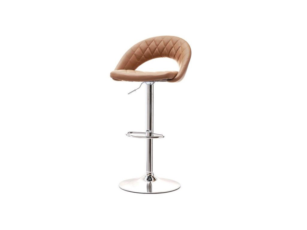 Kmp Pikowane Krzesło Barowe 44 Karmel
